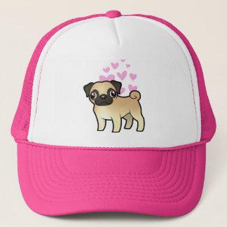 Pug Love Trucker Hat