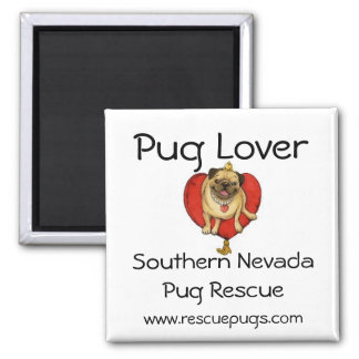 Pug Lover Magnet, Southern NevadaPug ... Square Magnet