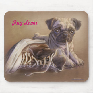 Pug Lover Mouse Pad