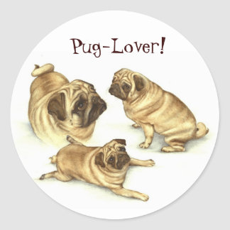 Pug Lover Stickers