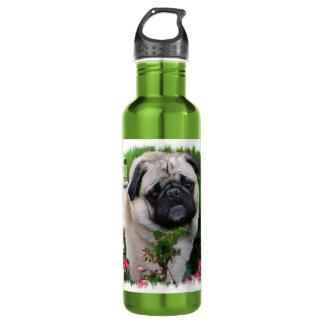 Pug Lovers Art 710 Ml Water Bottle