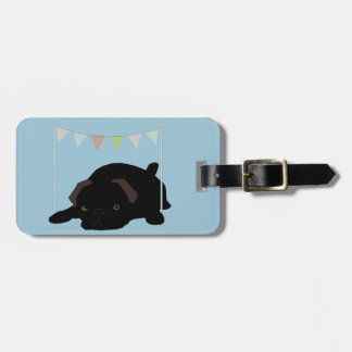 Pug Luggage Tag