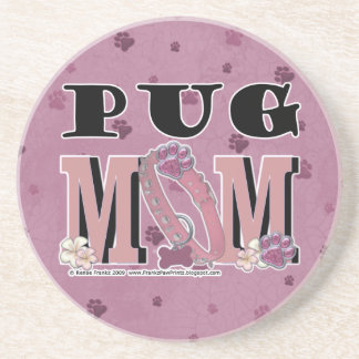 Pug MOM Coaster