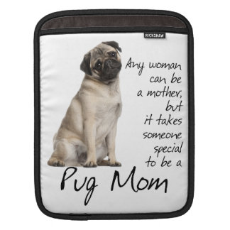 Pug Mom iPad Sleeve