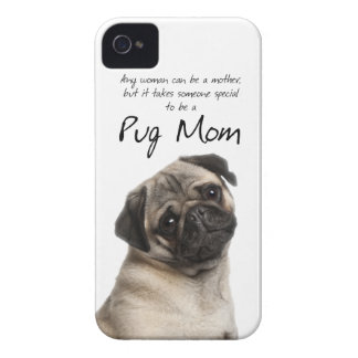 Pug Mom iPhone 4/4S Case