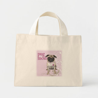 Pug Mom Tote Bag