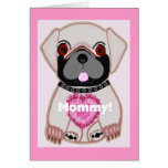 Pug Mother's Day! Greeting Cards