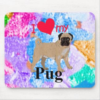 Pug Mouse Mat
