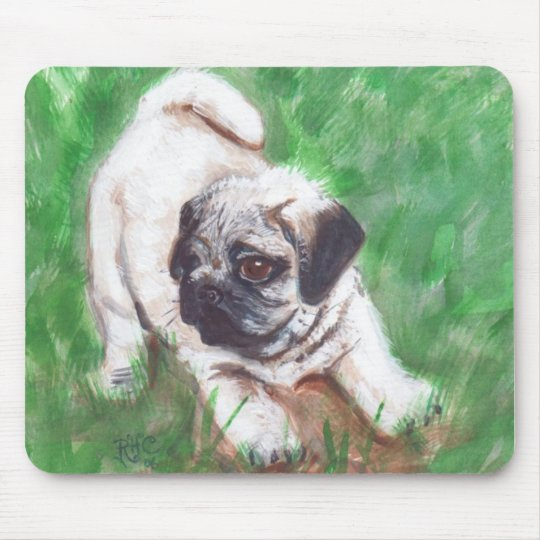 Pug-Mousepad Mouse Mat