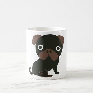 Pug Mug Black
