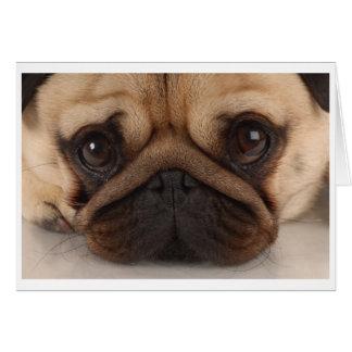 Pug Mug Card