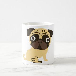 Pug Mug Cream