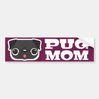 Pug Mum Bumper Sticker