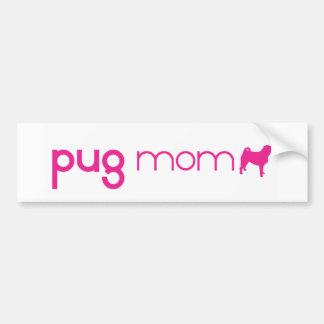 Pug Mum Bumper Stickers