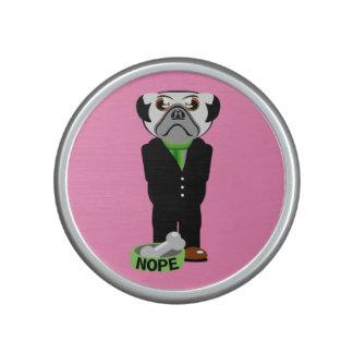 Pug Nope Bluetooth Speaker