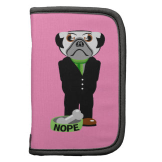 Pug Nope Folio Planners