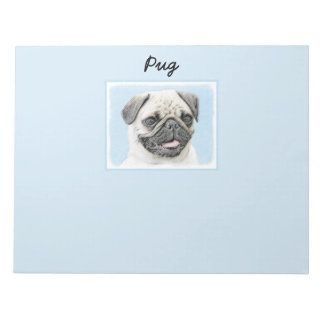 Pug Notepad