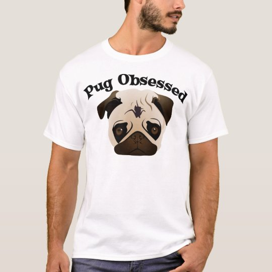 Pug Obsessed.png T-Shirt