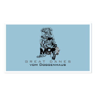 Pug Pack Of Standard Business Cards