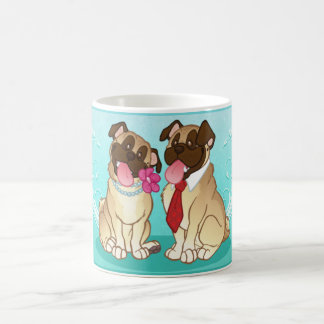 Pug Pair Mug (Fawn/Fawn)