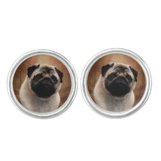 Pug Pair of Cufflinks