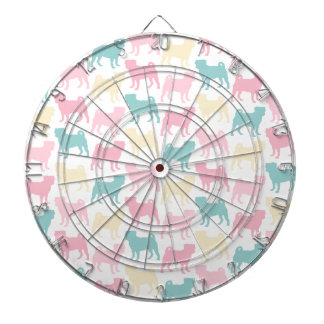 Pug_pastel_pattern Dartboard