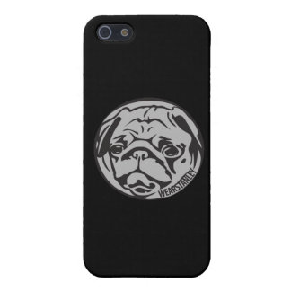 Pug phone iPhone 5/5S cover