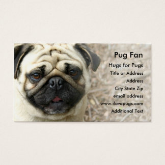 Pug Photo Business Card