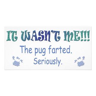 Pug Photo Cards