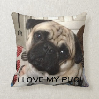 Pug Pillow Cushions