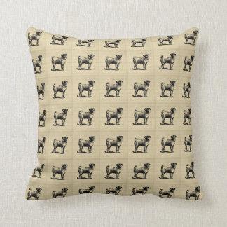 Pug Pillow Throw Cushions