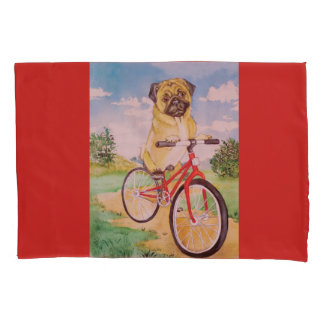 pug pillowcase for bed