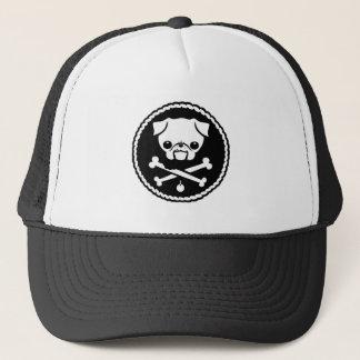Pug Pirate Trucker Hat