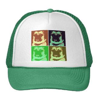 Pug Pop Art Cap