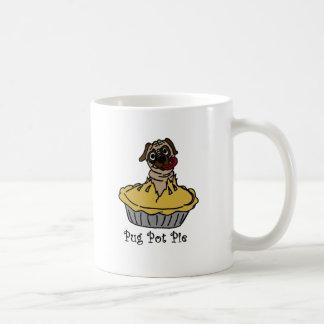 Pug Pot Pie Basic White Mug