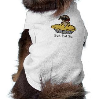 Pug Pot Pie Sleeveless Dog Shirt