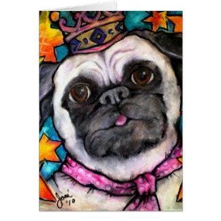 Pug Prince Cards