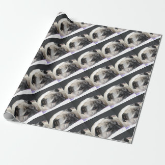 Pug pug - Photography: Jean Louis Glineur Wrapping Paper