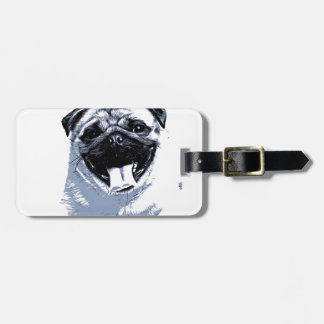 Pug Pugly Luggage Tag