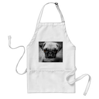 Pug Pup Standard Apron