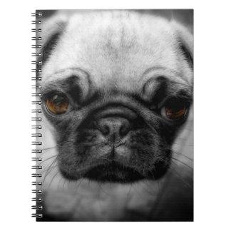 Pug Pup Spiral Notebook