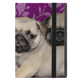 Pug puppies dog iPad mini case