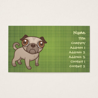 Pug Puppy Business Cards