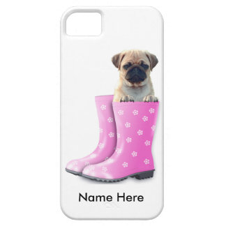 Pug Puppy Case For The iPhone 5