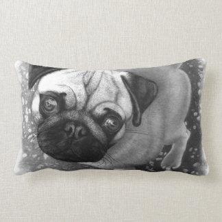 Pug Puppy Dog Art Pillow