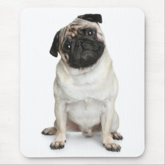Pug Puppy Dog Love Mouse Pad
