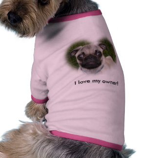 Pug Puppy Ringer Dog Shirt