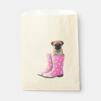 Pug Puppy Favour Bags