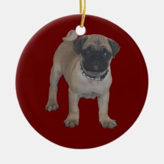 Pug Puppy First Christmas Christmas Ornament