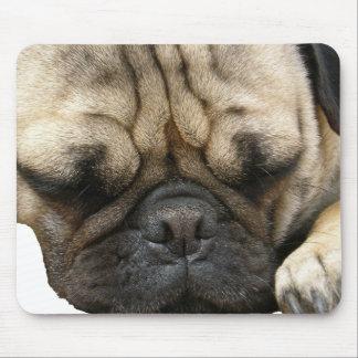 pug puppy mouse mat